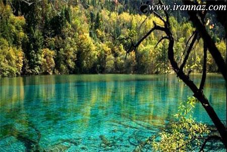 عکس هایی باور نکردنی از 5 دریاچه شگفت انگیز در دنیا