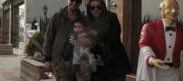 عکسی دیدنی از همسر و فرزند دوم شهاب حسینی