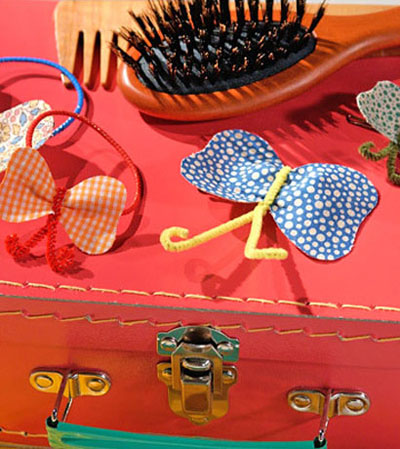 یک دکوراسیون تابستانی به صورت پروانه ای (عکس)