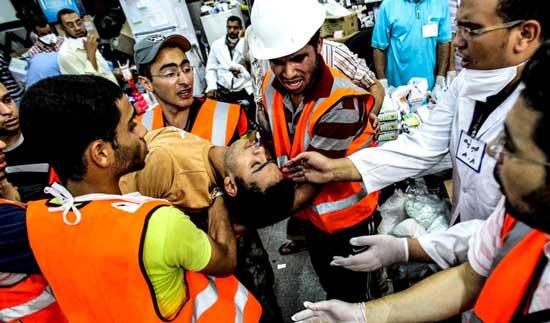 تصاویری از درگیرهای خشونت آمیز در مصر