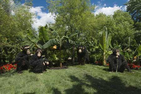 تصاویری از مسابقه مجسمه های گلی در مونترال