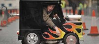 کوچکترین و بانمک ترین خودروی جهان در خیابان (عکس)