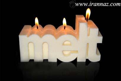به نظر شما این شمع ها را بخوریم یا روشنشان کنیم؟