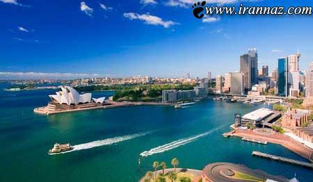 تصاویری جالب و دیدنی از زیباترین شهر دنیا،سیدنی