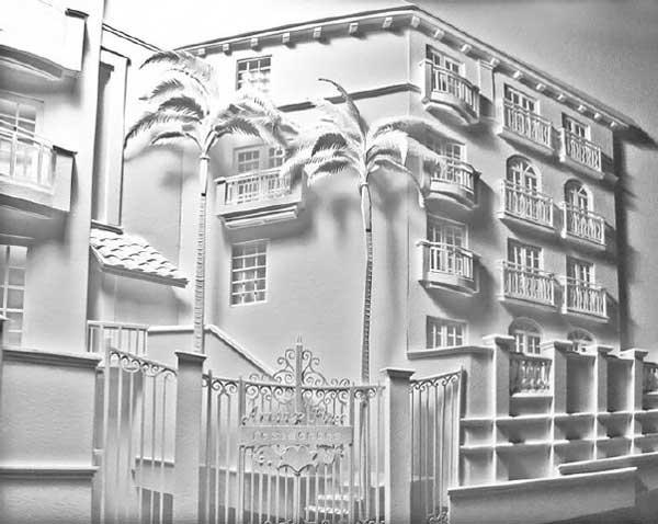 ساخت ماکتهای ساختمان های معرف به وسیله کاغذ (عکس)