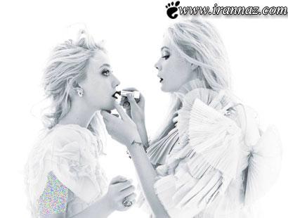 این دو خواهر زیبا دنیای مد را شگفت زده کردند (عکس)