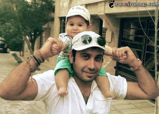 تصاویری جدید از محسن چاووشی در کنار خانواده اش