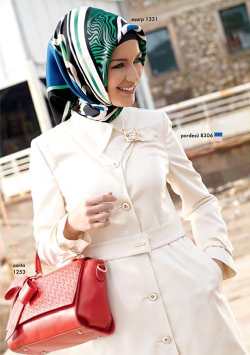 زیبا و جدیدترین مدل های مانتو و پوشش های با حجاب