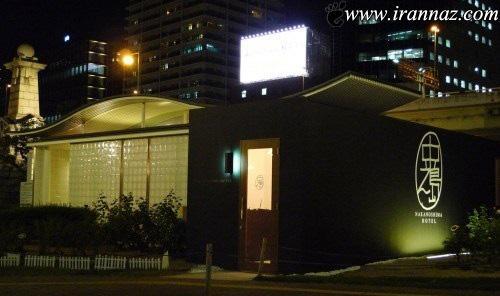 ساخت یک هتل تک اتاقهء زیبا در توالت عمومی (عکس)