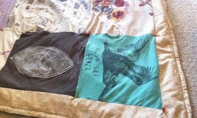 ایده های جالب برای تی شرت های قدیمی تان (عکس)