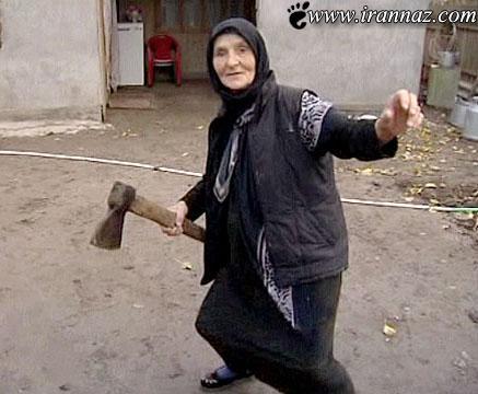 با شجاع ترین مادر بزرگ جهان آشنا شوید (عکس)
