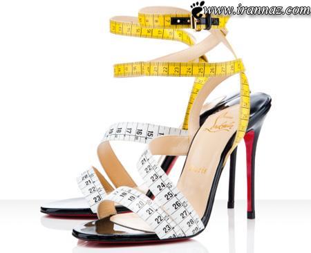 عکسهای بسیار دیدنی از مدلهای عجیب و غریب کفش