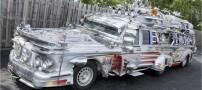 عکسی دیدنی از عجیب ترین خودروی دنیا با 9 متر طول