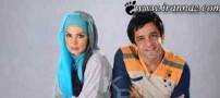 عکس مریم امیر جلالی به همراه دختر و داماد بازیگرش