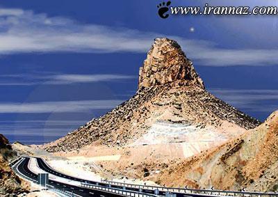 کوه پردیس یکی از عجیب ترین کوه های ایران (عکس)