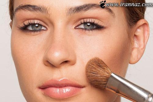 تکنیک های بسیار مهم آرایش برای گریم صورت (عکس)