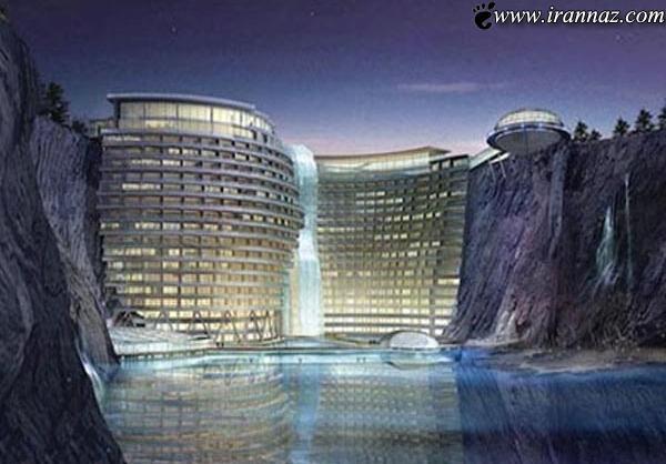 عکسهایی بسیار جالب از اولین هتل زیر زمینی در دنیا