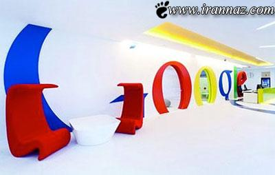 عکس هایی از جدیدترین طراحی دفتر کار شرکت گوگل