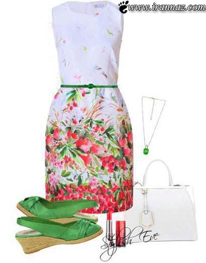 زیباترین ست های بهارانه برای خانم های شیک پوش