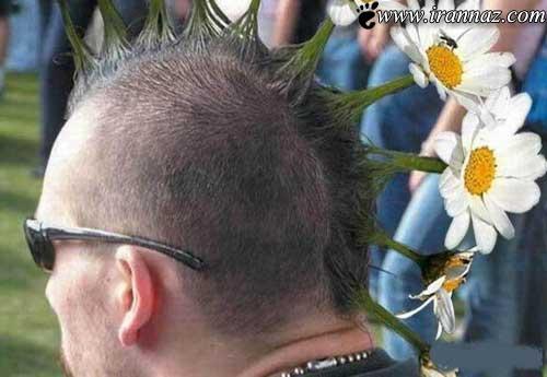 عکس هایی از مدل موهای عجیب و غریب و خنده دار