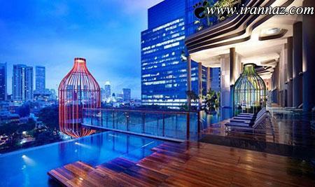 آشنایی با هتل زیبا و رویایی پارک رویال سنگاپور (عکس)