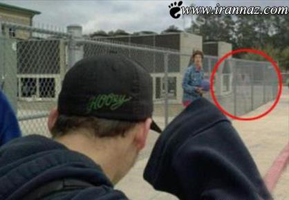 این خانم به طور تصادفی از یک روح عکس گرفت (عکس)