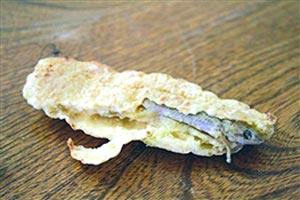 نان با طمع مارمولک