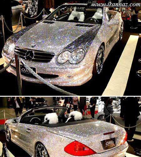 پوشش های جالب و زیبا بر روی بدنهء خودروها (عکس)