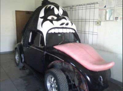 اتومبیل هایی برای تبلبغات (عکس)