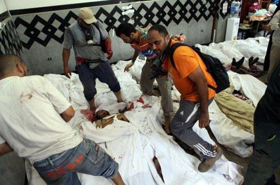 شورش های خیابانی در  قاعره(عکس)