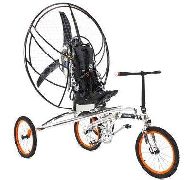 ساخت اولین دوچرخه پرنده در دنیا توسط دو انگلیسی
