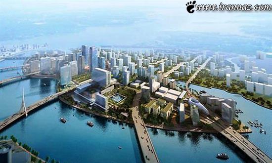 افتتاح یک جزیره مصنوعی بسیار زیبا در امارات (عکس)
