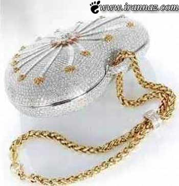 زیباترین و گران قیمت ترین کیف دستی دنیا (عکس)