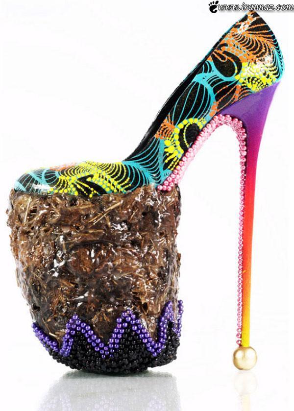 بسیار جالب و دیدنی از کفش پاشنه بلند زنانهمدلهای بسیار جالب و دیدنی از کفش پاشنه بلند زنانه