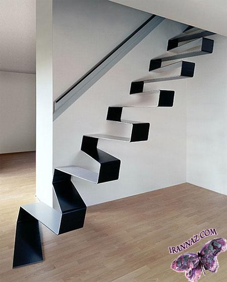 عکسهایی از پله های عجیب غریب
