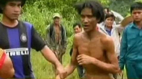 پیداشدن پدر و پسری بعد از 40 سال در جنگل (عکس)