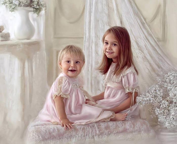نقاشی های خارق العاده از کودکان اثر Richard Ramsey