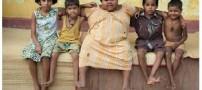 دختری 5 ساله با وزن 75 کیلو و اشتهایی نامحدود!! (+عکس)
