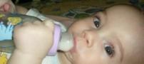 شیشه شیر موجب پوسیدگی دندان کودکان می شود