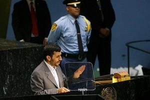 احمدینژاد، سخنران روز اول مجمع عمومی سازمان ملل