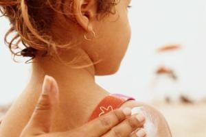 کرمهای ضدآفتاب و کودکان