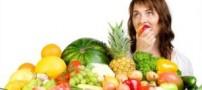 ساعت خوردن میوه برای لاغر شدن!!