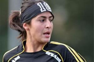 اولین فوتبالیست ایرانی(دختر)