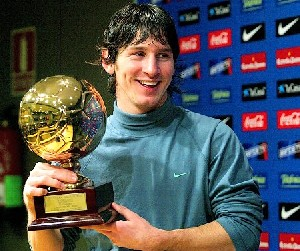برنده توپ طلای 2009 اروپا