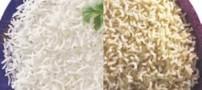 تفاوت برنج های قهوه ای با برنج های سفید