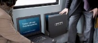 لپ تاپ لنوو به عنوان صندلی اتوبوس!!