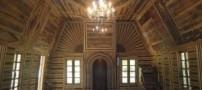 تنها مسجد چوبی جهان