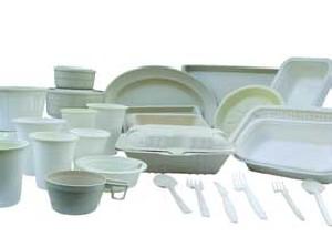 از ظروف یکبار مصرف گیاهی استفاده کنید