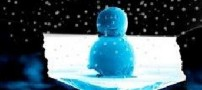 کوچکترین آدم برفی جهان!!
