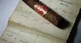 حراج سیگار نیمه سوخته چرچیل